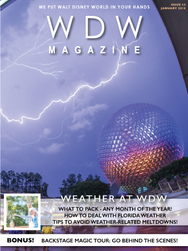 The Weather at WDW issue
