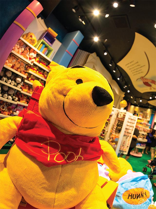 Winnie the Pooh at Hundred Acre Goods