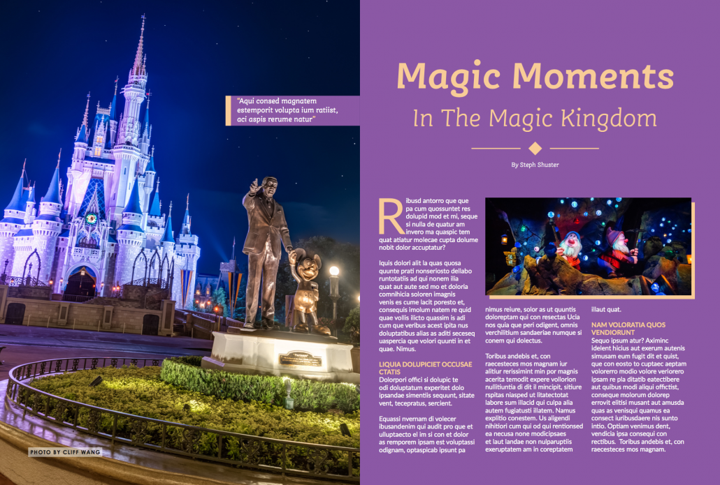 WDW Magazine - Disney World Pictures