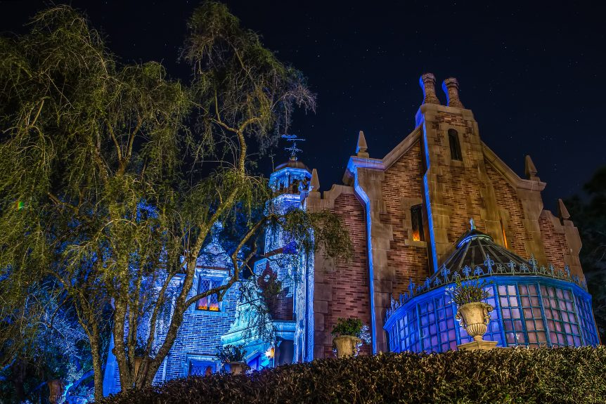 Disney World Pictures Haunted Mansion
