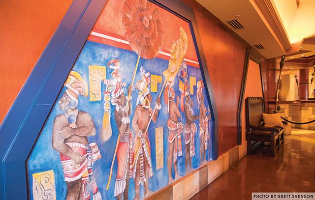 Mural in Coronado Springs Resort