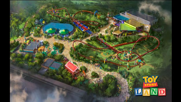 A backstage tour of Toy Story Land