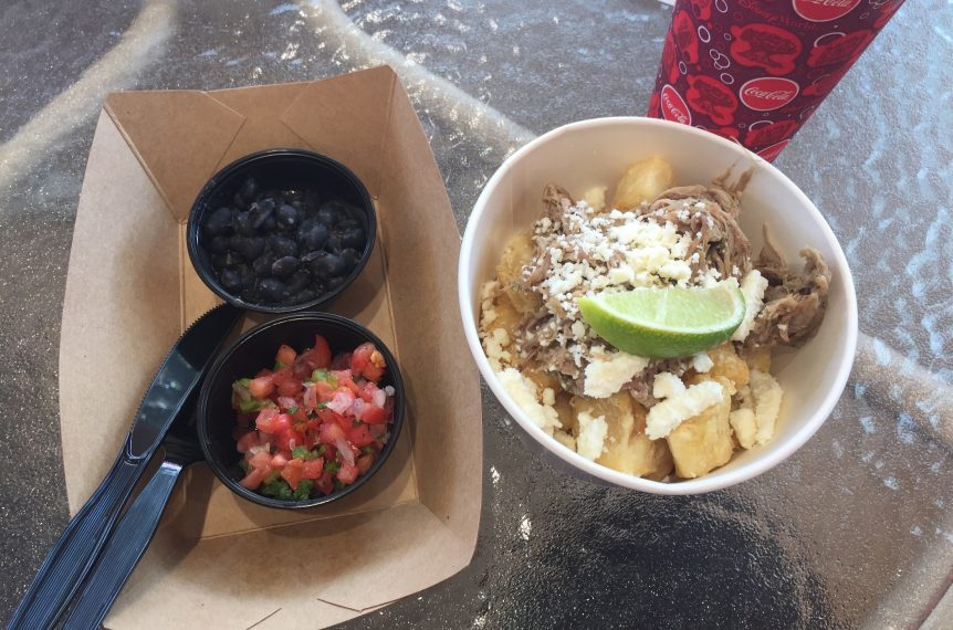 Crispy Yuca Bowl