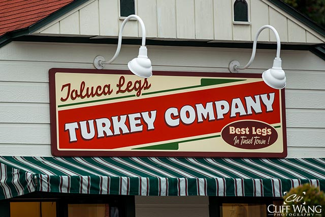 Toluca Turkey Company sign