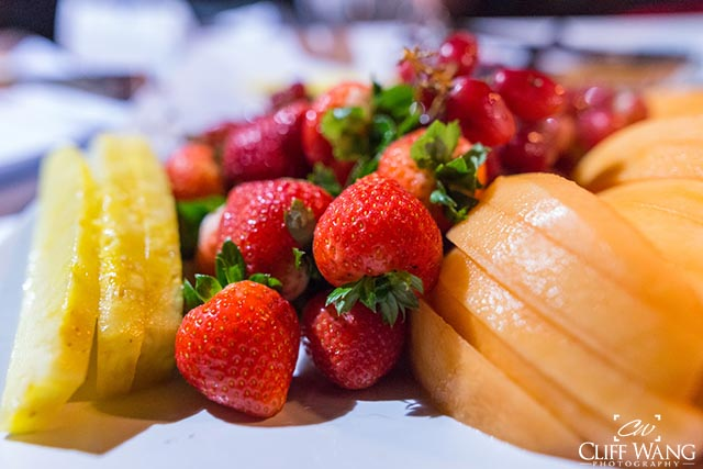A fruit plate from Walt Disney World. A pretty healthy snack.