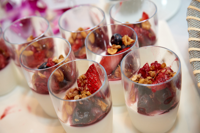 Fruit parfaits