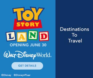 Destinations to Travel's latest Disney ad