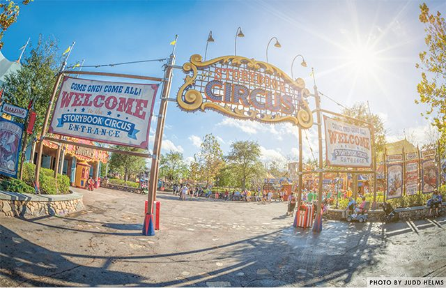 what does disney world look like: Storybook Circus in the Daytime Judd Helms