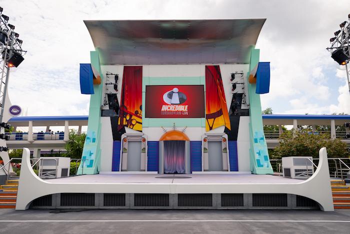 Rockettower Plaza Stage