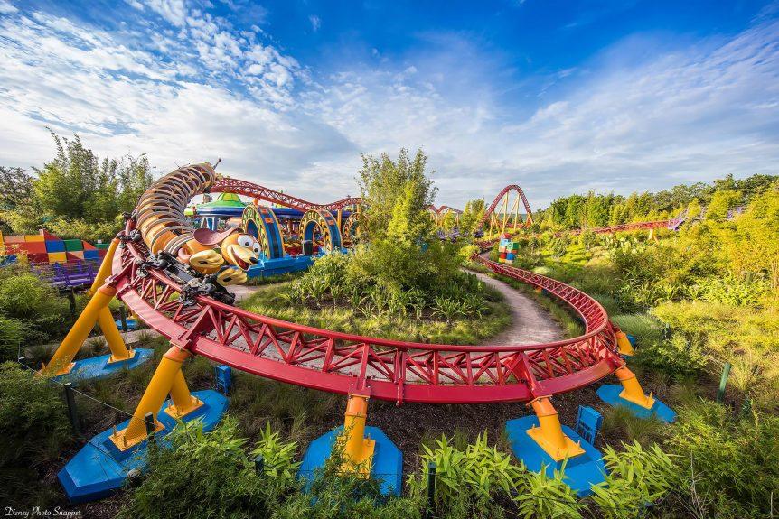 Toy Story Land Slinky Dog Dash Brett Svenson