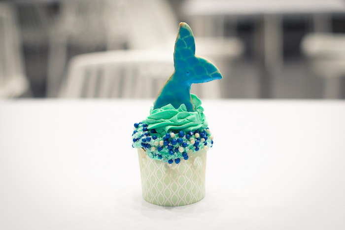 Mermaid Cupcake