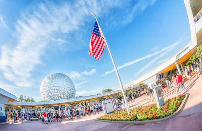 Spaceship Earth Disney World Military Discount Tickets