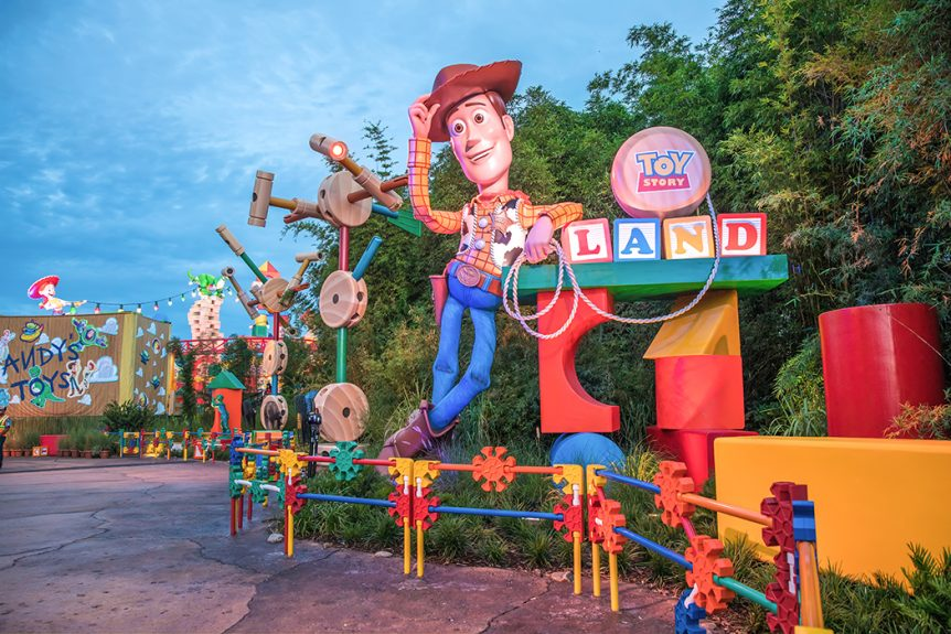 Park Hopper Coming Back to Disney World Toy Story Land Svenson