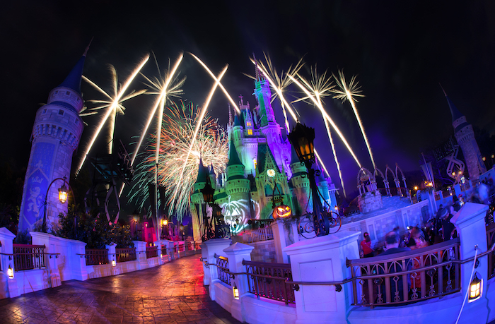 Mickey's Not-So-Scary Halloween Party - what does wdw look like at halloween