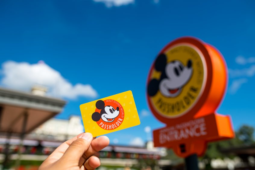 Reopening of Disney World Annual Passholder