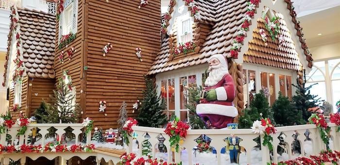 Gingerbread house at Grand Floridian Resort Walt Disney World