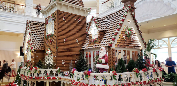 Gingerbread house at Disney's Grand Floridian Resort & Spa