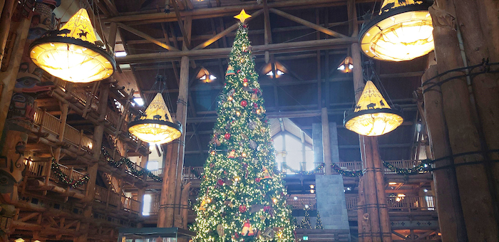 Disney Christmas at Wilderness Lodge