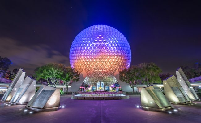 Spaceship Earth EPCOT Judd Helms