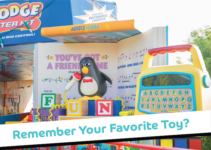 Create A Feeling Of Nostalgia: See How Toy Story Land Can Make Us Feel Nostalgic