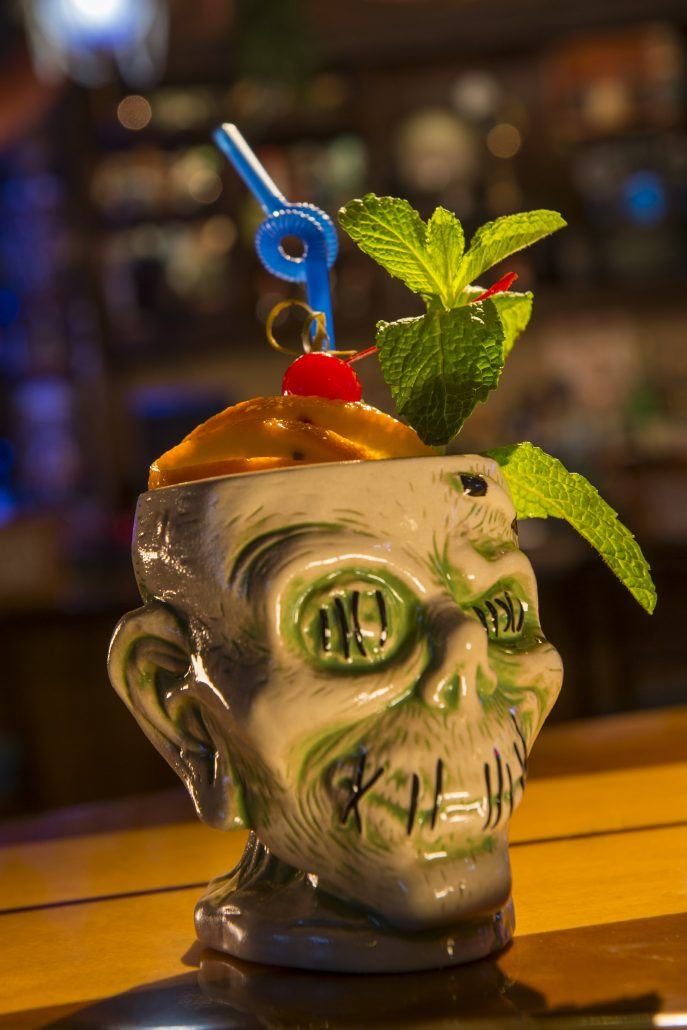 Shrunken Zombie Head drink