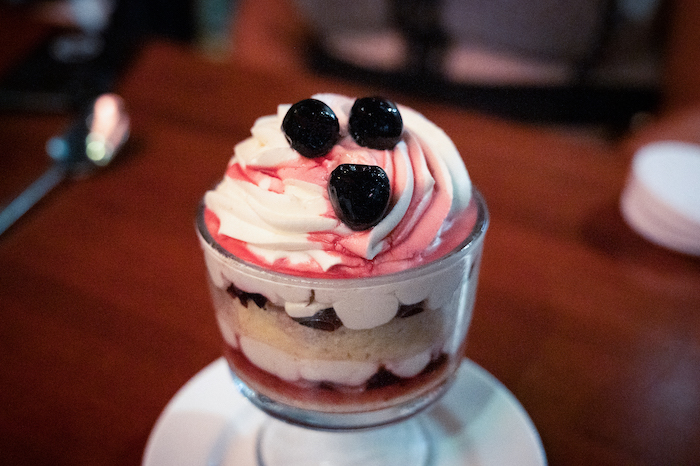 Cherry Cheesecake Trifle