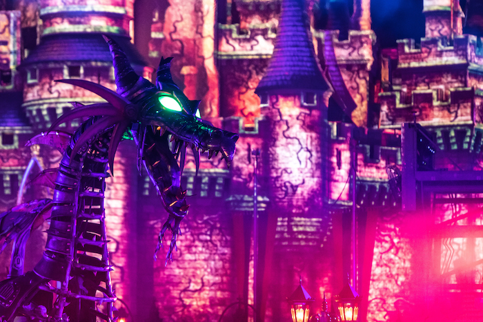 Maleficent at Night
