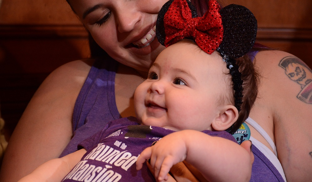 Disney world with a baby at magic kingdom
