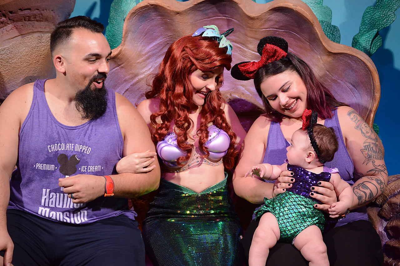 Baby Meeting Ariel
