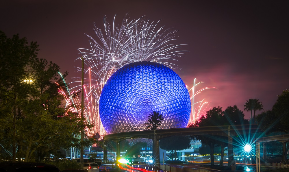 Epcot 4th of July