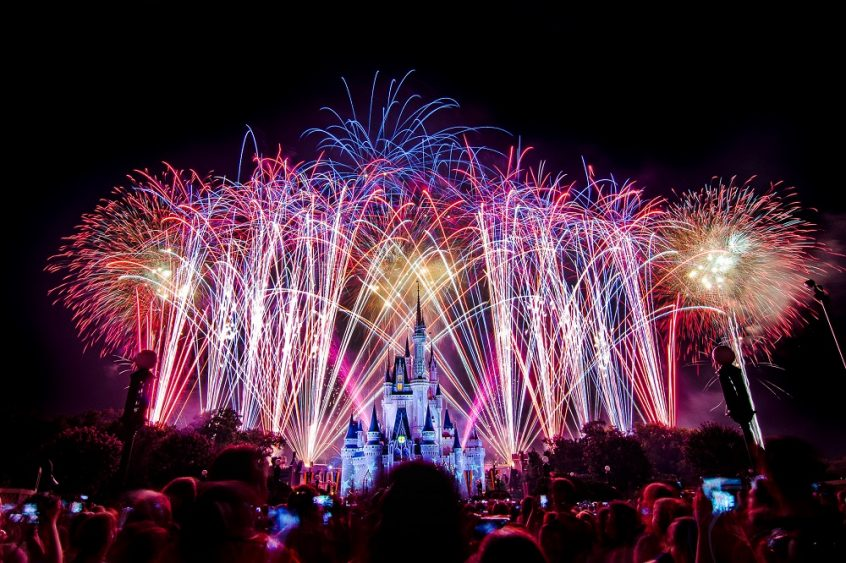 Disney World 4th of July
