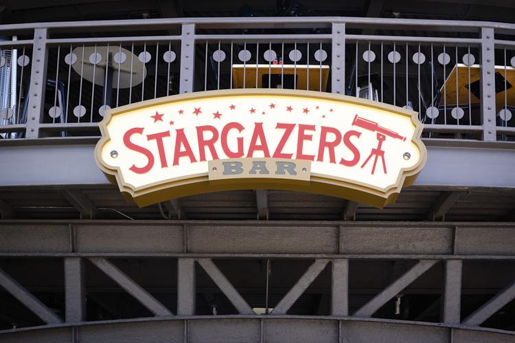 Stargazers Bar Signage