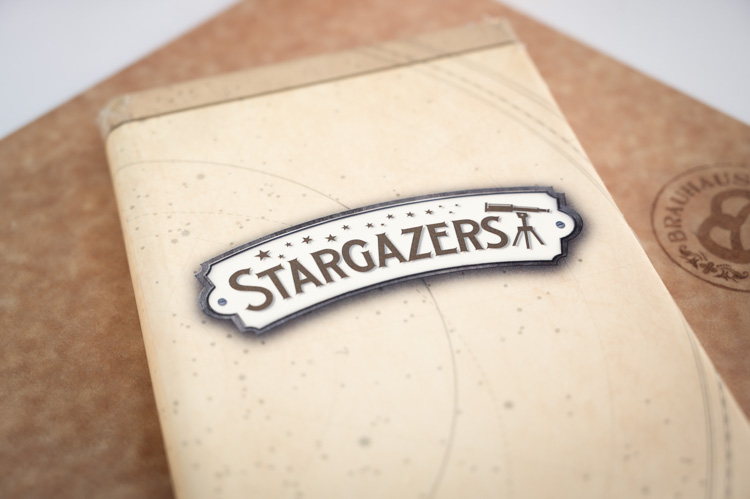 Stargazers Bar Menu Cover