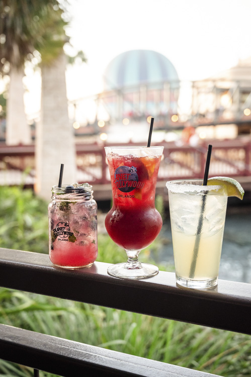 Planet Hollywood Cocktails