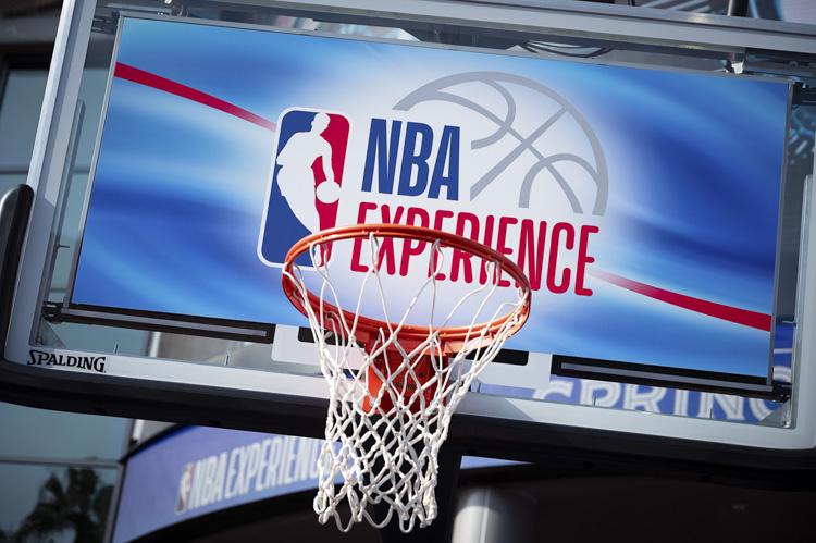NBA Experience Basketball Hoop