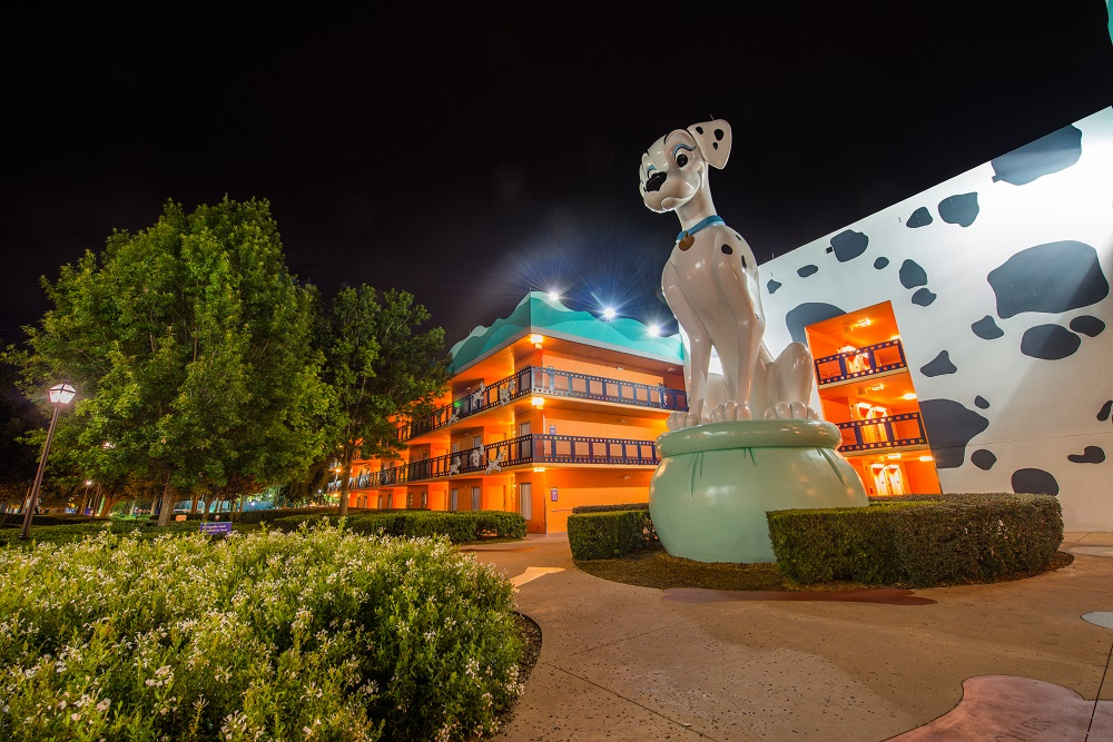 Disney World All Star Movies Resort Dalmation Statue