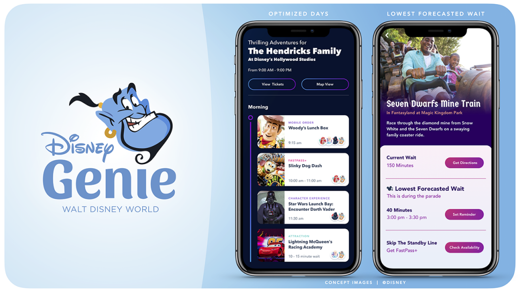 Disney Genie D23 Announcement