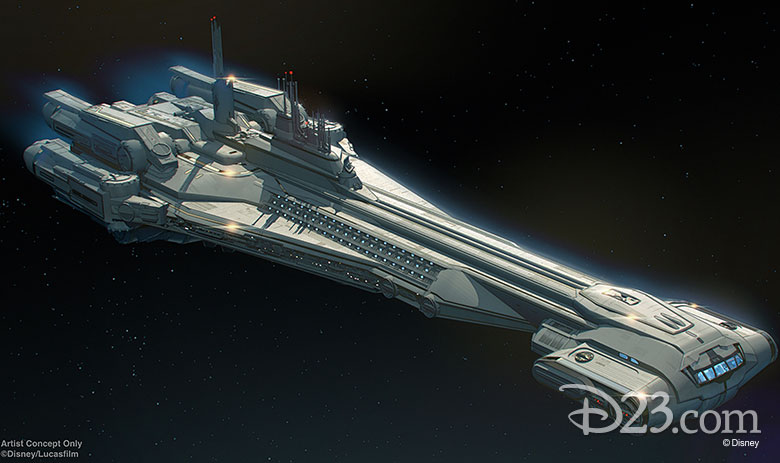 2019 D23 Announcements Star Wars Hotel