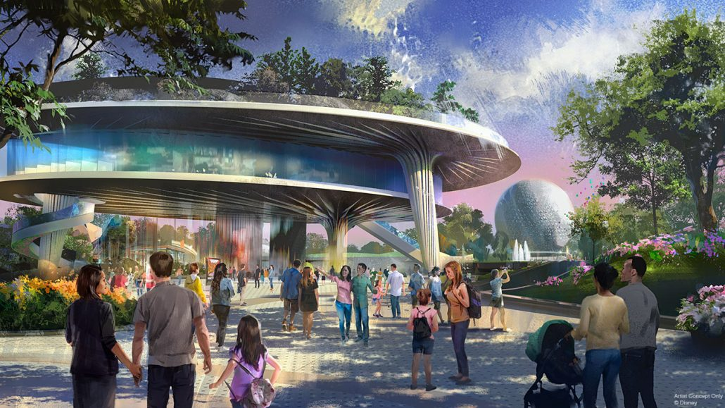 Epcot New Pavilion