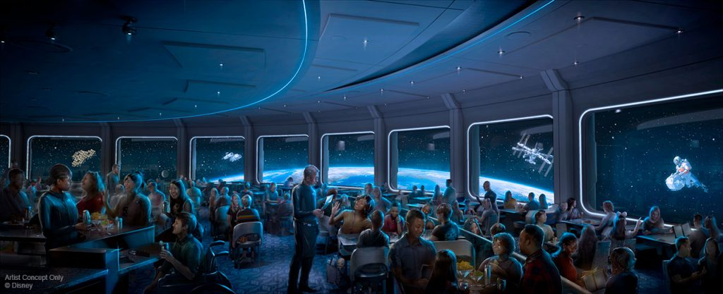 Space 220 Epcot Restaurant