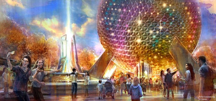Transformation of EPCOT History of Spaceship Earth