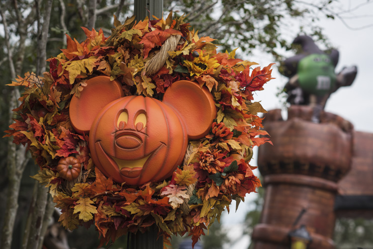 Mickey's Not-So-Scary Halloween Party Decor