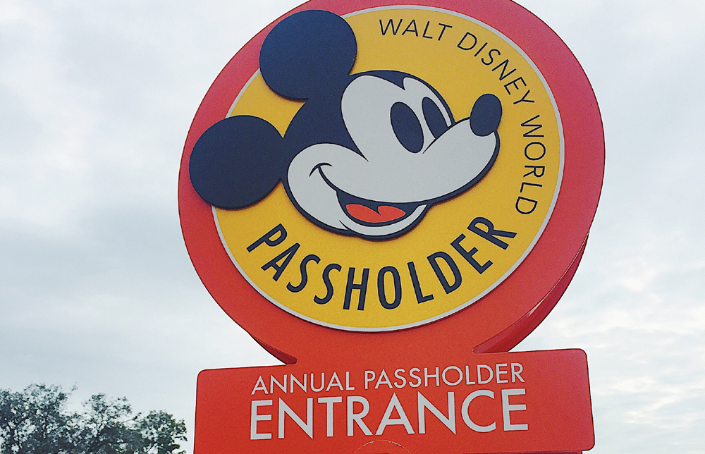 Disney World Annual Passholder Entrance