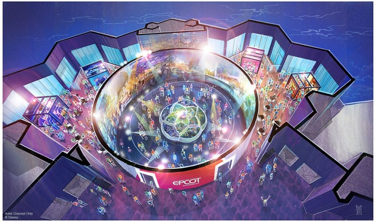epcot Experience D23 Announcements