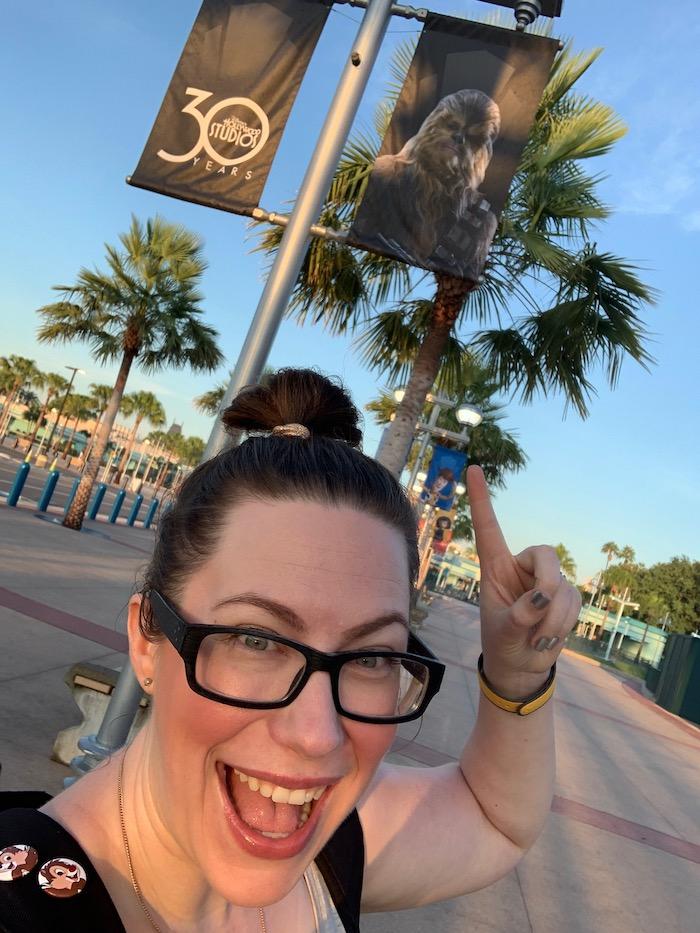 Star Wars: Galaxy's Edge Media Event Arrival