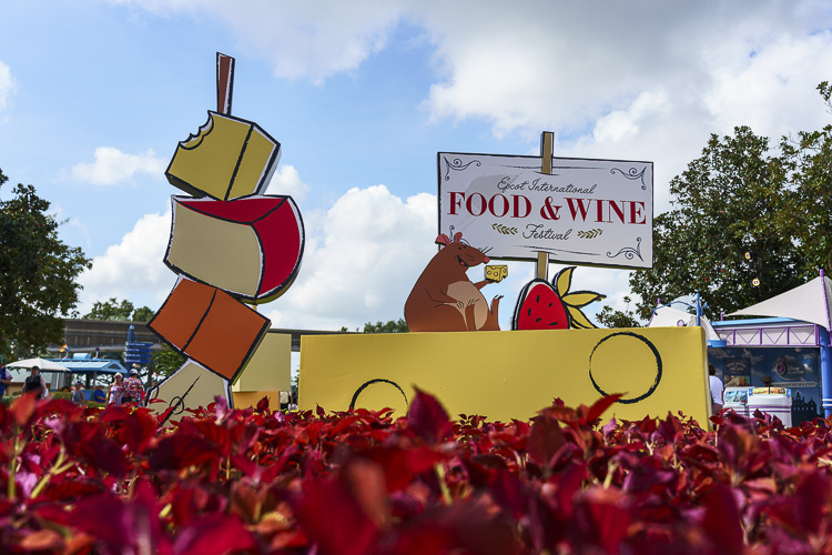 Epcot Food & Wine Festival for kids