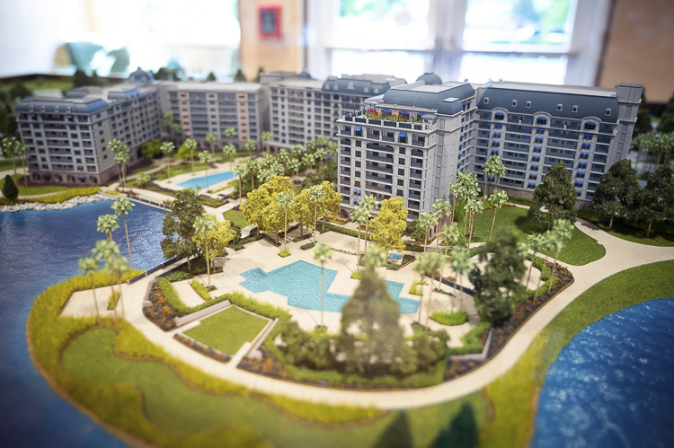 Riviera Resort Scale Model