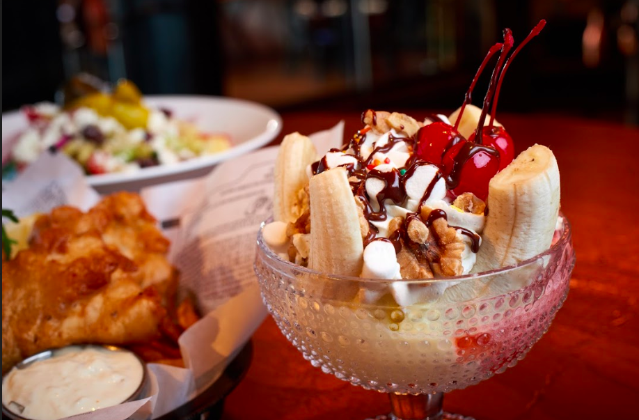 The Edison Banana Split Disney Springs