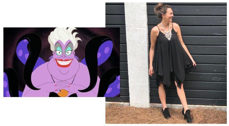Ursula Disneybound