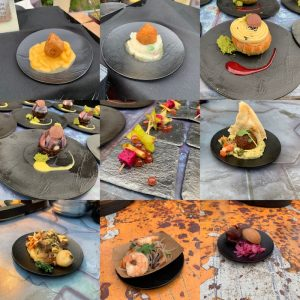 tasting items from Docking Bay 7